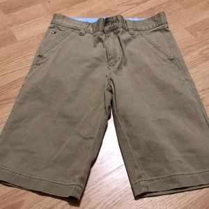 Tommy Hilfiger Boys Shorts Size 16 Tan
